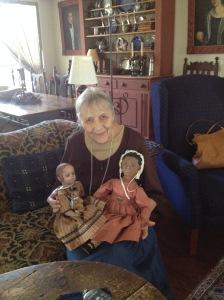 Edyth and her Dolls